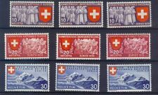 Lightly Hinged Postage Swiss Stamps