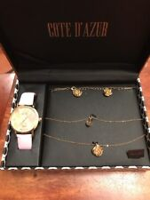 New Cote D'Azur Ladies Watch and Jewelry Gift Set Retail $65