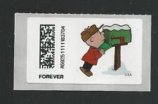 2015 CVP93 Holiday A Charlie Brown Christmas Vended ATM Postage Forever