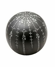Fancy Flourish Sphere of Life Cremation Urn for Human Ashes