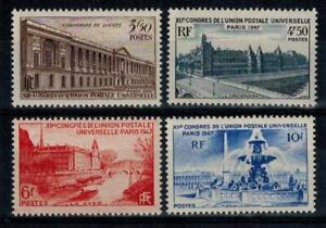 (b38) timbres France n° 780/783 neufs** année 1947