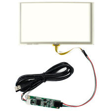 6.2 Inch Touch Panel 4 wire Resistive Touch Screen with USB controller card