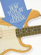 How to Play Bass Guitar Acorn Basic Lessons