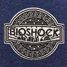 BIOSHOCK Rapture Logo - Gamer - 10cm x 9cm Embroidered Patch - Iron-on / Sew-on