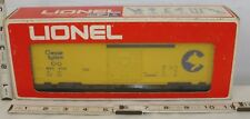 LIONEL CHESSIE SYSTEMS FRIEIGHT BOX CAR BOXED #9740