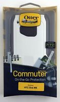 OtterBox Commuter Series Case for HTC One M9 Glacier White - NEW 100% Authentic