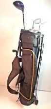 JUNIOR GOLF CLUBS COUGAR X-CAT 4 Club Set with Bag Graphite ages 9-11 B #W330