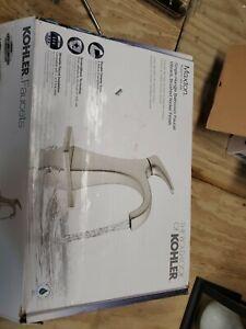 Kohler Maxton Bathroom Faucet Vibrant Brushed Nickel 1-Handle 1PR22475-4D-BN