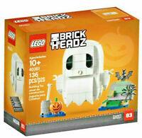 LEGO BRICKHEADZ • IL FANTASMA DI HALLOWEEN 40351 GHOST NUOVO SIGILLATO RARO