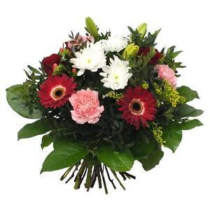 """Blumenstrauß """"2000 Dank"""" Groß oder klein mit Handgeschriebener Karte - Blumen"""
