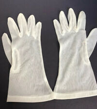 Vintage Ivory Mesh Women's Gloves
