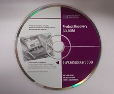 HP OmniBook 5500 Product Recovery CD Software 5010-1971ABA