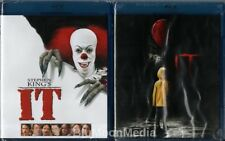 It BLU-RAY Lot Original & Remake Stephen King Horror 2 movie set Brand NEW