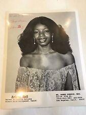 1980 8 x 10 Photo Signed Autographed Singer ARLENE BELL c