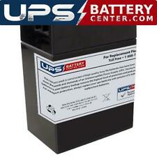 SigmasTek Sp6-14 6V 14Ah +F2 -F1 Replacement Battery