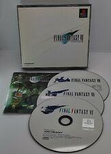 Final Fantasy VII for Sony PlayStation PS1 NTSC-J Japanese 00700~2