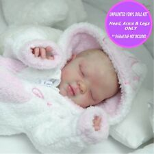 Ella Reborn  kit baby doll vinyl kit unpainted W/  FREE GIFT  so cute