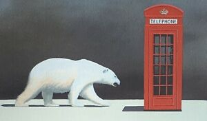 """Robert Deyber signed lithograph """"Cold Call"""""""