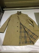 Burberry trench coat beige vintage