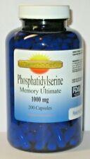 Phosphatidylserine Memory Ultimate Complex 1000 mg 200 capsules Brain Health