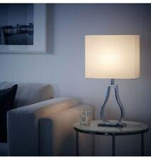 KLABB Table Lamp Ivory Shade IKEA New In Box