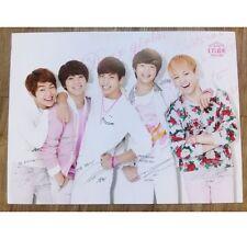 SHINee ETUDE poster kpop bts cd mblaq bigbang super junior EXO btob vixx b1a4