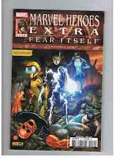 MARVEL HEROES EXTRA 10 AVENGERS FEAR ITSELF PANINI COMICS SERIE COMPLETE !!!!