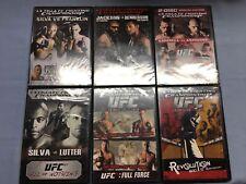 Lot of 6 Brand New Sealed UFC DVDs Ultimate Fighting DVD Bundle