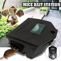 2X Roshield Ratte Maus Mäuse Killer Gift Blöcke Nagetier Köder Station Pest  *