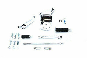 Chrome Replica Shifter Control Kit for Harley Davidson by V-Twin