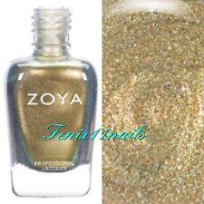 ZOYA ZP915 GAL peridot gold metallic nail polish ~ SOPHISTICATES Collection New