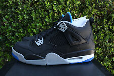 AIR JORDAN 4 RETRO GS IV SZ 5.5 Y MOTORSPORTS ALTERNATE BLACK 408452 006