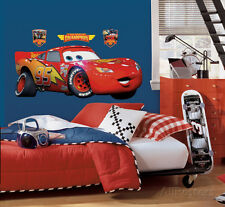 Cars - Lightening McQueen Peel & Stick Giant Wall Decal Sticker - 18x40