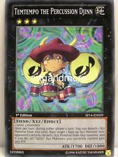 YU-GI-OH - 1x Temtempo the Percussion Djinn-sp14-STAR PACK 2014