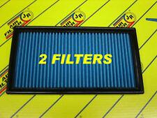 2 Filtres de remplacement JR Ferrari California 4.3 V8 7/08-> 460cv