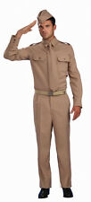 WWII Private Military Soldier World War Dress Up Career Adult Halloween Costume