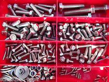 275 Teile EDELSTAHL Schrauben SET BOX *FAHRRAD* DIN 933