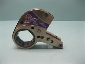 """Hytorc Stealth-8 #7 Hydraulic Torque Wrench 3-1/8"""" Link USED A3 (2376)"""