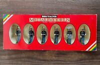 Boxed Britains Toy Soldiers - 7302 I US Marine Sergeant 5 US Marines marching