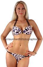 Sexy * Maximizer * Push-Up-Bikini mit Leopardenmuster Gr. S, M, L