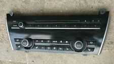 2010-2016 BMW 550I 535I GT AC Climate Control Radio Buttons Panel 9233660-01 OEM