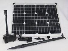 50W conjunto bomba solar Siena bachlauf del Estanque de Jardín