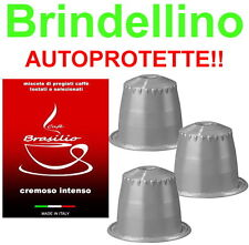 100 capsule caffè BRASILIO CREMOSO INTENSO COMPATIBILI Nespresso,krups,De Longhi