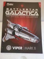 "Battlestar Galactica ""Viper Mark Ii - Starbuck"" - Eaglemoss Model"