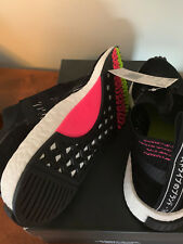 Adidas NMD RACER PK CQ2441 Core Black Pink/Green Outsole Solar Pink (Size 9 1/2)