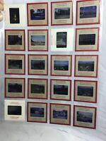 Vintage lot 20 Kodak Kodachrome Slide Photos 1960s Red Sides Manila Hotel