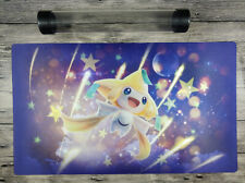 Pokémon TCG: Sun & Moon—Celestial Storm Jirachi PTCG Playmat Free Best Tube