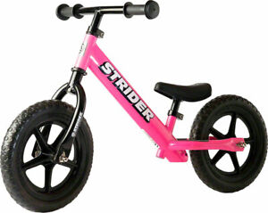 NEW Strider 12 Classic Balance Bike Pink