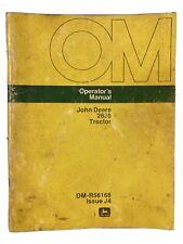 John Deere 2630 Tractor Operator's Manual Om-R56168 Issue J4
