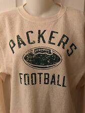 Green Bay Packers Long Sleeve Shirt Boys Large (14/16) by Adidas